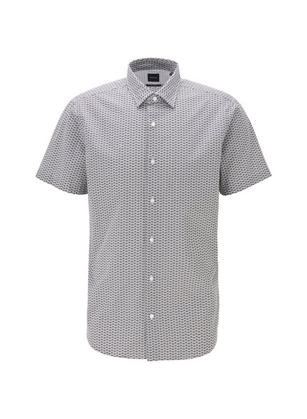 HUGO BOSS SHORT SLEEVE PRINT SHIRT