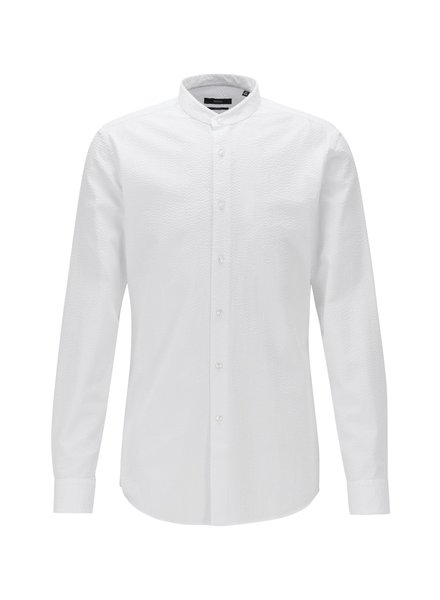 HUGO BOSS COTTON SEERSUCKER SHIRT
