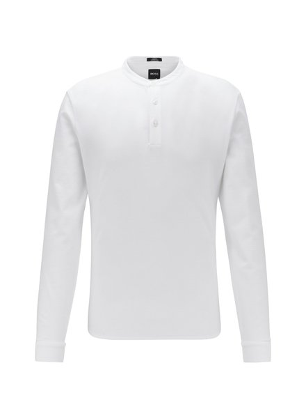 HUGO BOSS SLIM HENLEY SHIRT