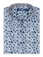 STONE ROSE SHORT SLEEVE FLORAL SHIRT