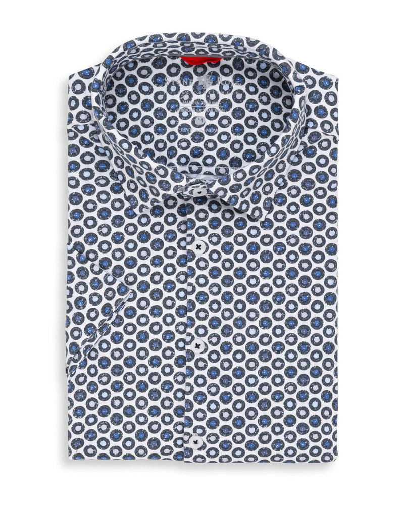 STONE ROSE SHORT SLEEVE PRINT SHIRT