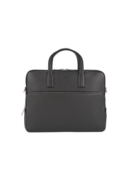 HUGO BOSS LEATHER BRIEFCASE