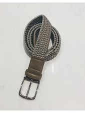 PAOLO VITALE BELTS STRETCH WOVEN BELT