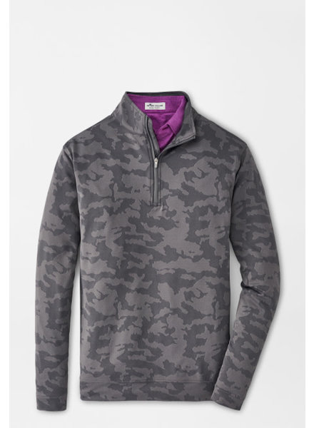 PETER MILLAR CAMO QUARTER ZIP