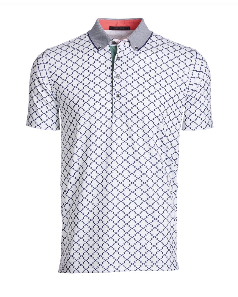 GREYSON CLOTHIERS PRINTED POLO