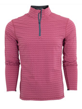 GREYSON CLOTHIERS PRINTED QUARTER ZIP