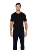 RAFFI AQUA COTTON V-NECK TEE