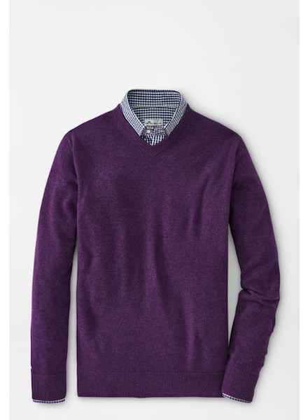 PETER MILLAR CASHMERE V-NECK SWEATER