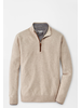 PETER MILLAR CASHMERE - WOOL QUARTER ZIP