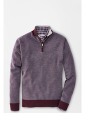 PETER MILLAR WOOL QUARTER ZIP