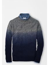 PETER MILLAR DIP-DYE CREW SWEATER
