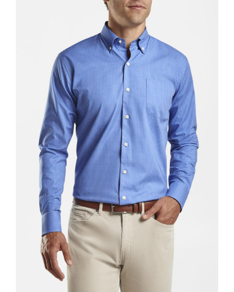 PETER MILLAR CHECK SHIRT