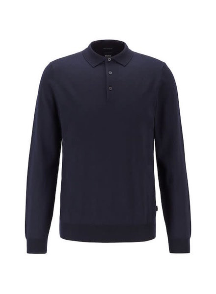 HUGO BOSS LONG SLEEVE POLO