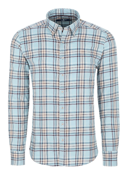 STONE ROSE PLAID SHIRT