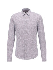 HUGO BOSS SLIM FIT FLORAL SHIRT