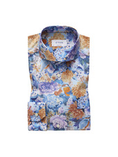 ETON SUPER SLIM FIT FLORAL SHIRT
