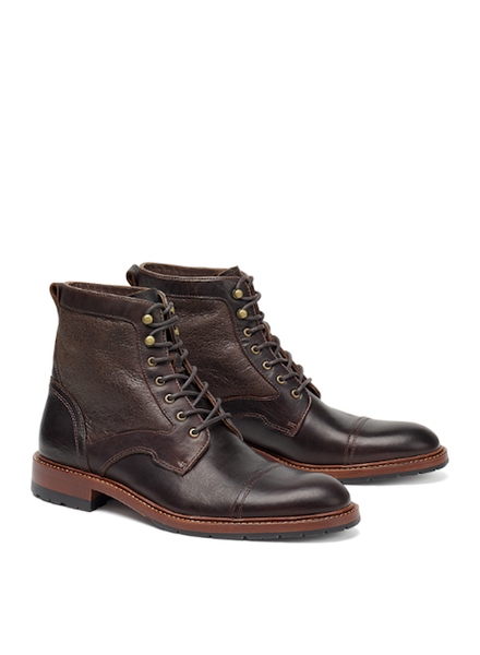 TRASK LAWRENCE SHEARLING BOOTS