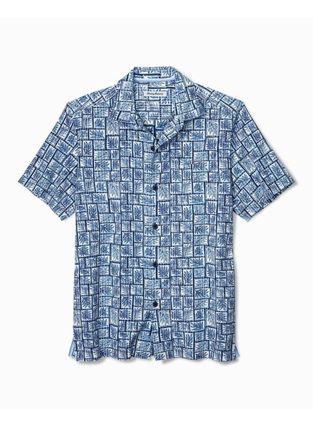 TOMMY BAHAMA SHORT SLEEVE PRINT SHIRT