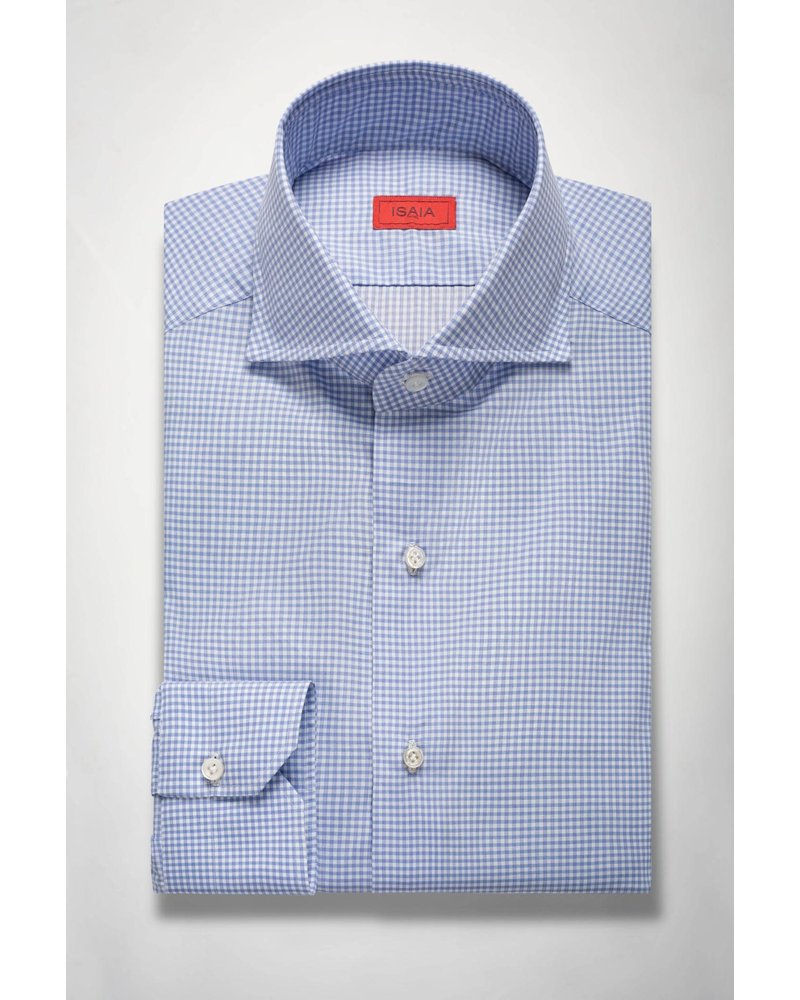 ISAIA CHECK SHIRT