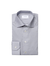 ETON SLIM FIT PRINT SHIRT