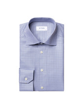ETON SLIM FIT CHECK SHIRT