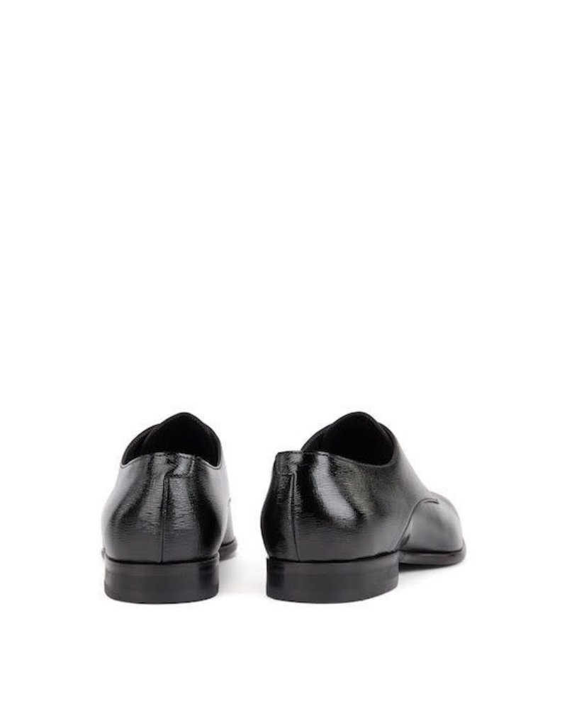 HUGO BOSS DERBY PATENT LEATHER SHOES