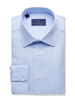 DAVID DONAHUE REGULAR FIT ROYAL OXFORD DRESS SHIRT