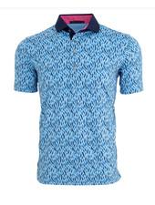 GREYSON CLOTHIERS FEATHER PRINT POLO