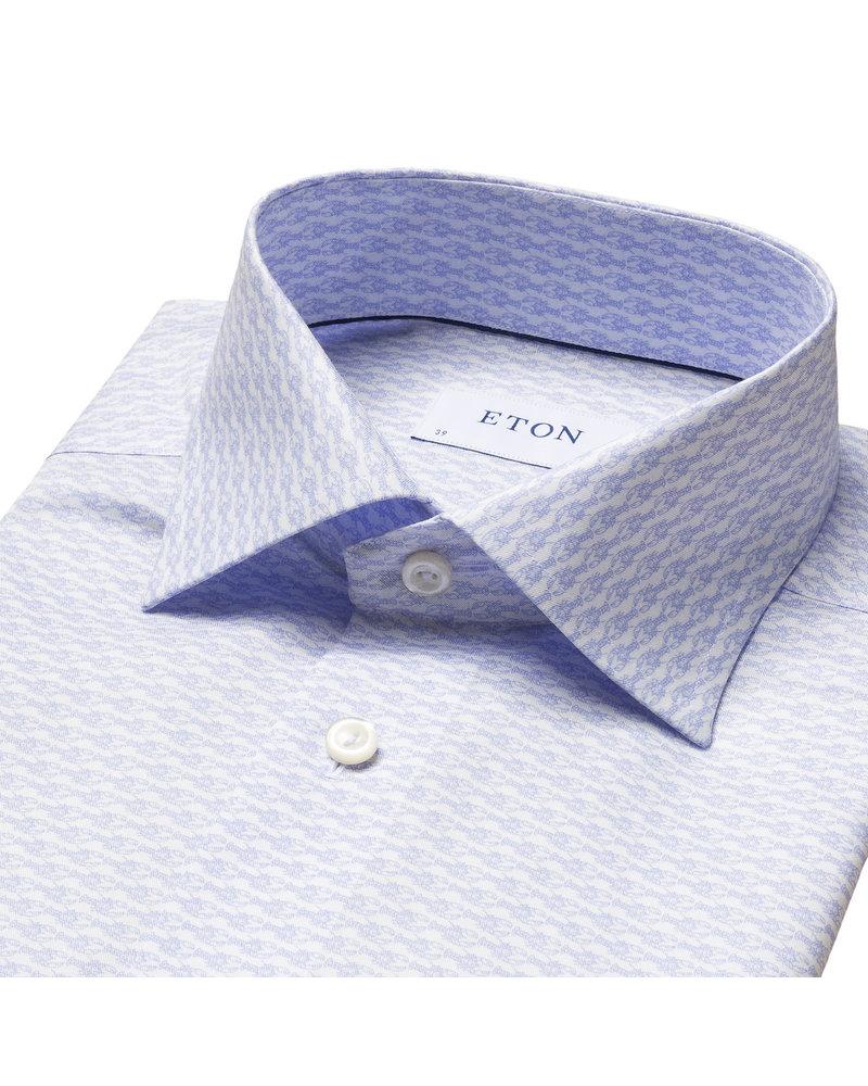 ETON CRAYFISH PRINT SHIRT