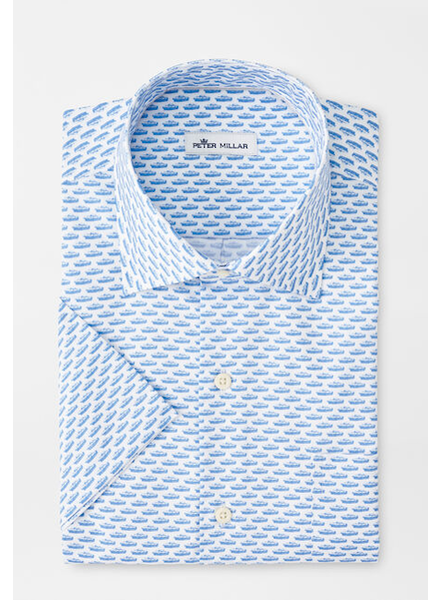 PETER MILLAR SHORT SLEEVE PRINT SHIRT