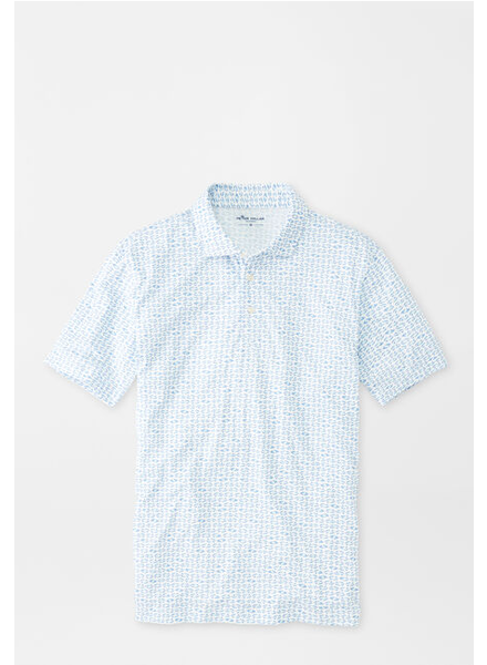 PETER MILLAR MERMAID PRINT POLO