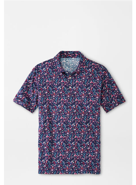 PETER MILLAR BLOODY MARY PRINT POLO