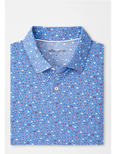 PETER MILLAR DRINK PRINT POLO
