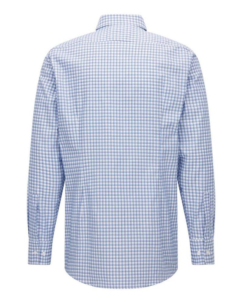 HUGO BOSS BOSS SLIM CHECK SHIRT