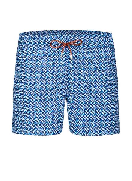 BUGATCHI UOMO PRINT SWIM TRUNKS