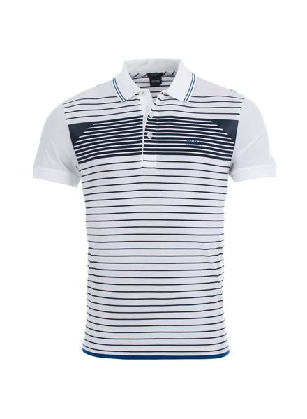 HUGO BOSS STRIPED POLO