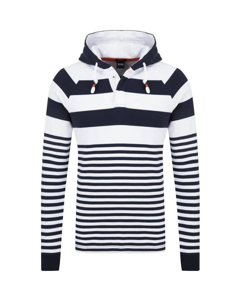 HUGO BOSS STRIPED HOODIE