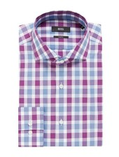 HUGO BOSS SLIM CHECK SHIRT