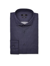 HUGO BOSS SLIM HOUNDSTOOTH SHIRT