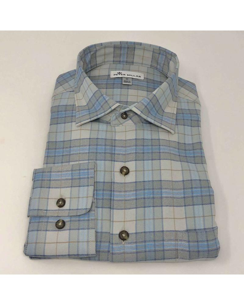 PETER MILLAR PETER MILLAR PLAID SHIRT