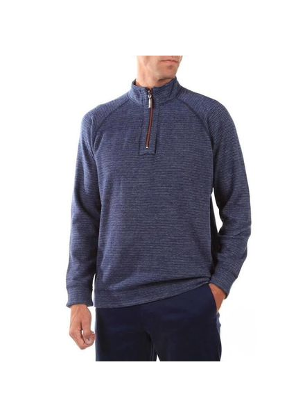 TOMMY BAHAMA REVERSIBLE QUARTER ZIP
