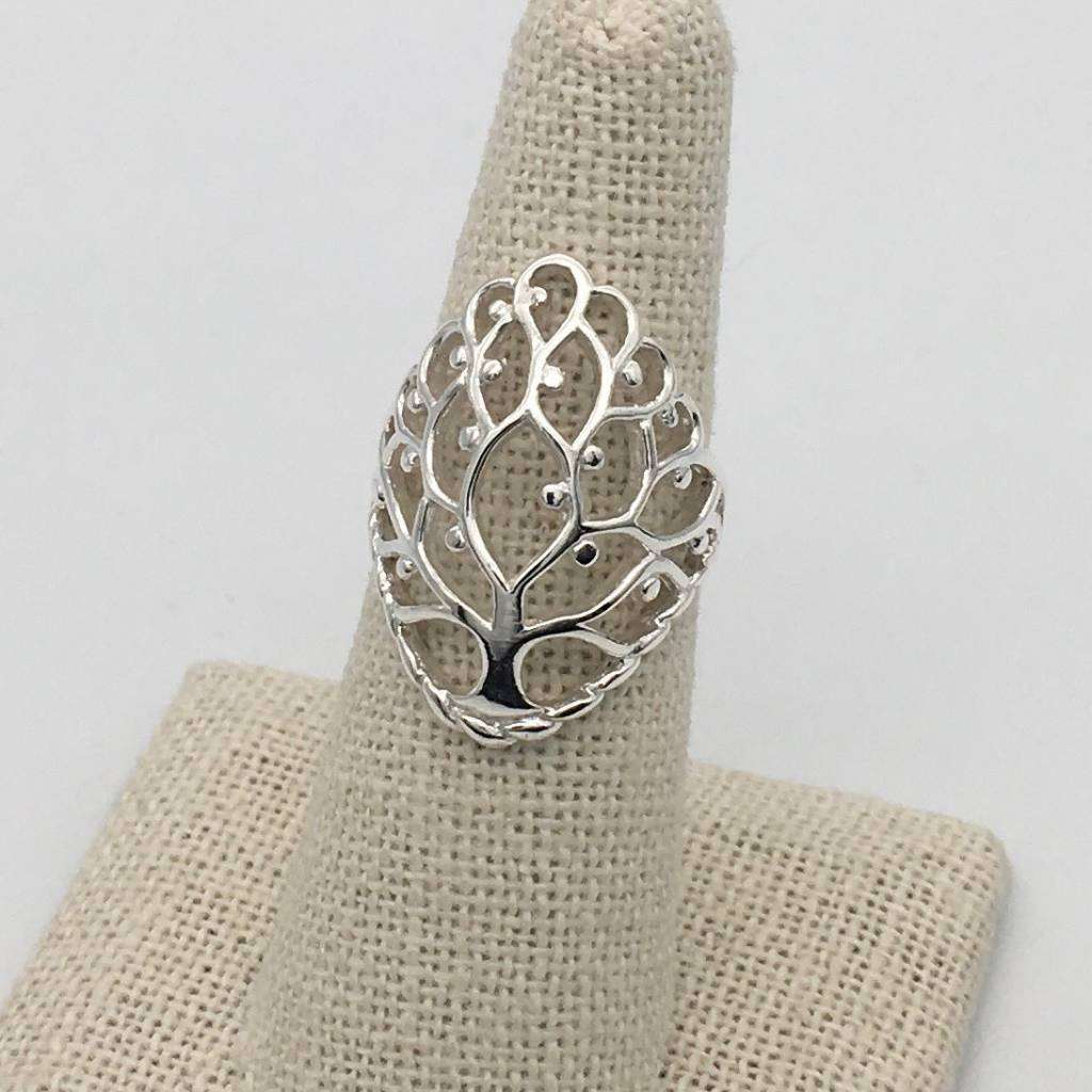 S1372 Tree Of Life Ring Grekka