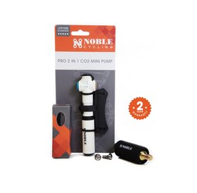 Noble Cycling Noble Cycling Pro 2-in-1 CO2 Mini Pump
