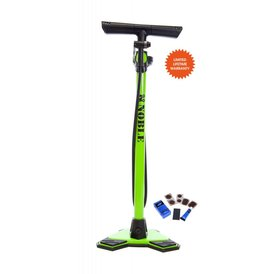 Noble Cycling Noble Cycling Elite Floor Pump Green