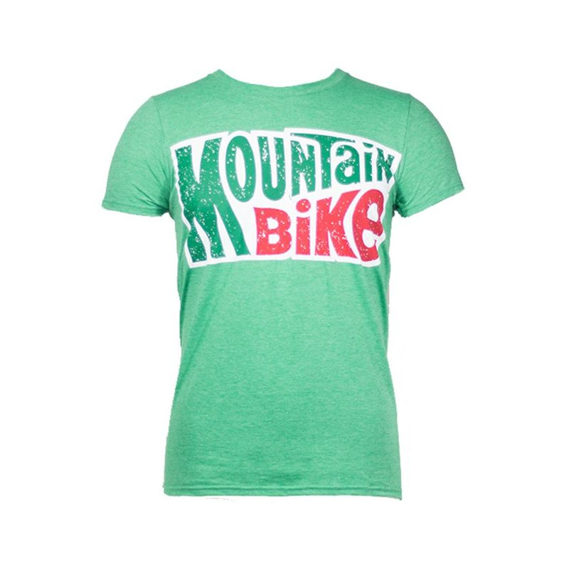 Noble Cycling Noble Cycling Mountain Bike Tee Green Noble Cycling