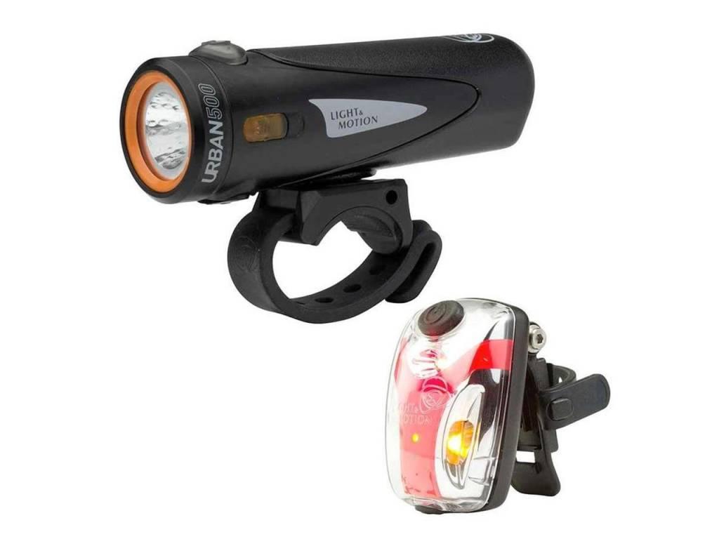 Light and Motion Combo Urban 500 Onyx + Vis Micro II