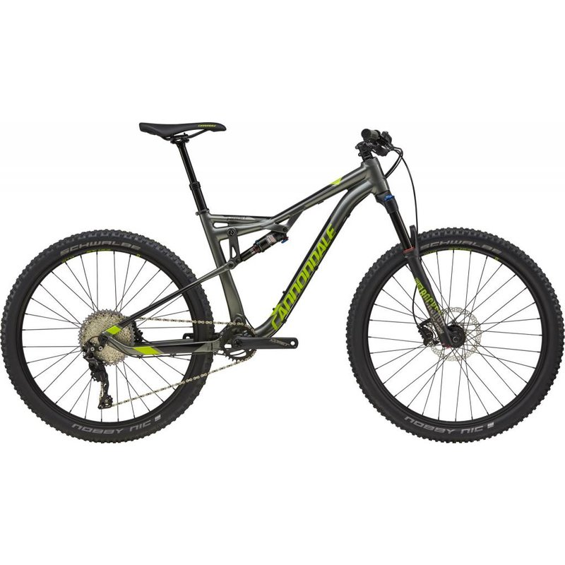 Cannondale 2018 Cannondale Habit 4 AL Grey Large