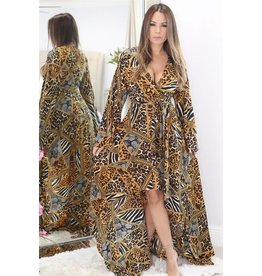Mad Love 10102 Animal Print Dress
