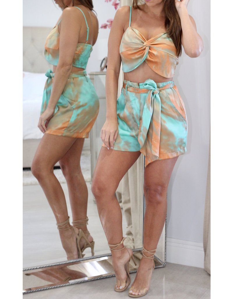 6393 Two Piece Short Set