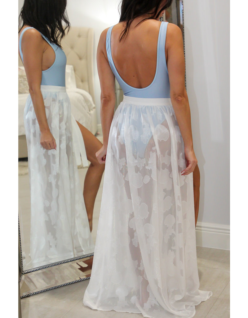 70068 Side Tie Sarong Cover Up